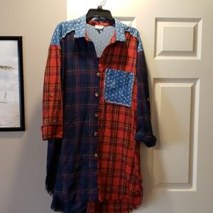 Umgee dress/tunic large